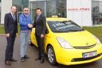 Toyota Prius Hybrid-Taxi mit 1 Million Kilometern