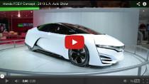 Honda FCEV Concept: Video von der L.A. Auto Show 2013