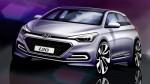 Designskizze: Neuer Hyundai i20