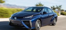 Toyota Mirai: Brennstoffzellenauto mit mutigem Design