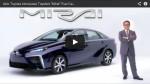 Video: Akio Toyoda stellt Toyota Mirai vor