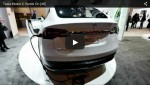Video: Tesla Model X auf der CES 2015