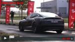 Video: Tesla Model S P85D in Berlin