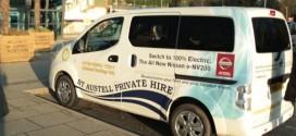 Taxibetreiber spart dank Nissan E-Autos rund 80.000 Euro im Jahr