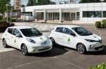 Nissan LEAF und Renault ZOE für COP21