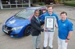 Guiness World Record im Honda Civic Tourer