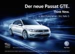Passat GTE auf der IAA 2015 zur Probe fahren