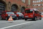 Renault Kangoo ZE bei der Feuerwehr Hamburg
