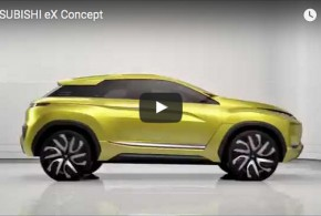 Mitsubishi eX Concept: Der elektrische Crossover im Video