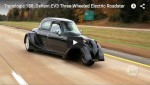 Video: Defiant EV3 Elektroauto mit 3 Rädern