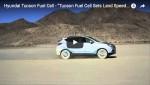 Video: Hyundai Tucson Fuel Cell Geschwindigkeitsrekord