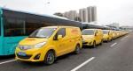 BYD T3 Elektrotransporter für DHL China
