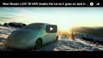 Video: Nissan Leaf bricht das Eis