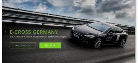 e-CROSS GERMANY Rallye für Elektrofahrzeuge in NRW im September 2016