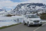 Im Hyundai ix35 Fuel Cell quer durch Europa