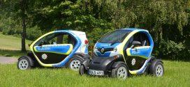 Polizei Bonn und Lebenshilfe Erfurt fahren jetzt auch Renault Elektroautos