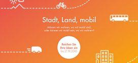 Die besten Ideen gesucht: Wettbewerb zur Mobilität von morgen