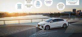 Hyundai IONIQ als autonom fahrendes Konzeptfahrzeug