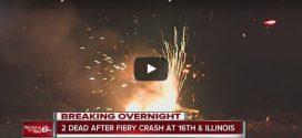 Zwei Tote nach Unfall und Explosion eines Tesla Model S in Indianapolis