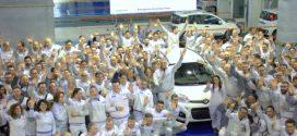 Rekord-Meilenstein: 300.000ster Fiat Panda Natural Power vom Band gelaufen