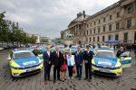 Übergabe von 15 VW Passat GTE an die Polizei