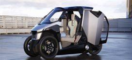 EU-LIVE präsentiert ein Plug-In Hybrid-Leichtfahrzeug mit 300 km Reichweite