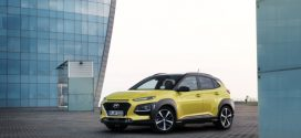 Hyundai Kona Elektro feiert auf dem Genfer Autosalon Weltpremiere