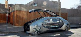 Renault EZ-GO Concept – Smartes Taxi für die Smart City