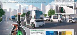 Schaeffler Mover: Flexibles Fahrzeugkonzept mit elektrischem Radnabenantrieb