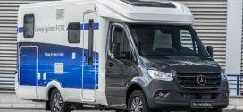 Concept Sprinter F-CELL: Nutzfahrzeug mit Elektroantrieb und Brennstoffzelle