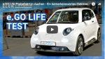 Video: e.Go Life Testfahrt