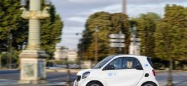 Im Januar 2019 startet car2go in Paris mit 400 smart EQ fortwo Elektroautos