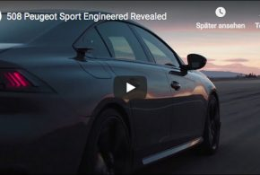 Trailer zum Concept 508 Peugeot Sport Engineered Neo-Performance