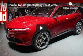 Alfa Romeo Tonale auf dem Genfer Autosalon 2019 (AUTO BILD Video)
