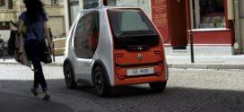 Renault EZ-POD: Studie eines selbstfahrenden Elektro-Minimobils für die Stadt