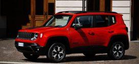 2020 kommender Jeep Renegade PHEV feierte seine Fahrpremiere auf der Strasse