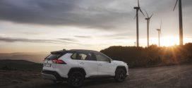 SUV in Grün: Der Toyota RAV4 Hybrid überzeugt beim ADAC Ecotest