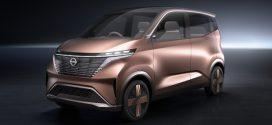 Nissan IMk Concept: Eine ideale Elektroauto-Studie für Pendler
