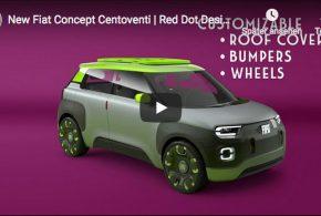 Fiat Centoventi: Super-Stylisch aber leider nur eine Studie