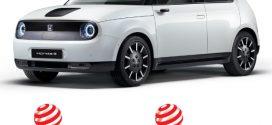 Best of the Best: Honda e mit dem Red Dot Design Award ausgezeichnet